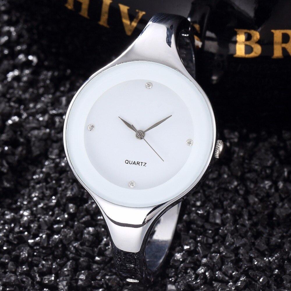Women Watch 2016 Luxury Brand Fashion Bracelet Watch Montre Femme Full Steel Clock font b Reloj