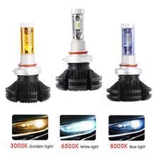 Super Bright Professional X3 H7 Car LED Headlight Bulb Far and Near Light Refit Fog Lights Lampadina