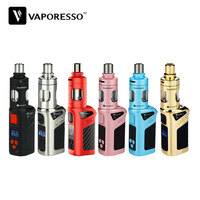 100 Original Vaporesso Target Mini Kit 40W VW VT Ni SS Ti 1400mAH Battery Built In