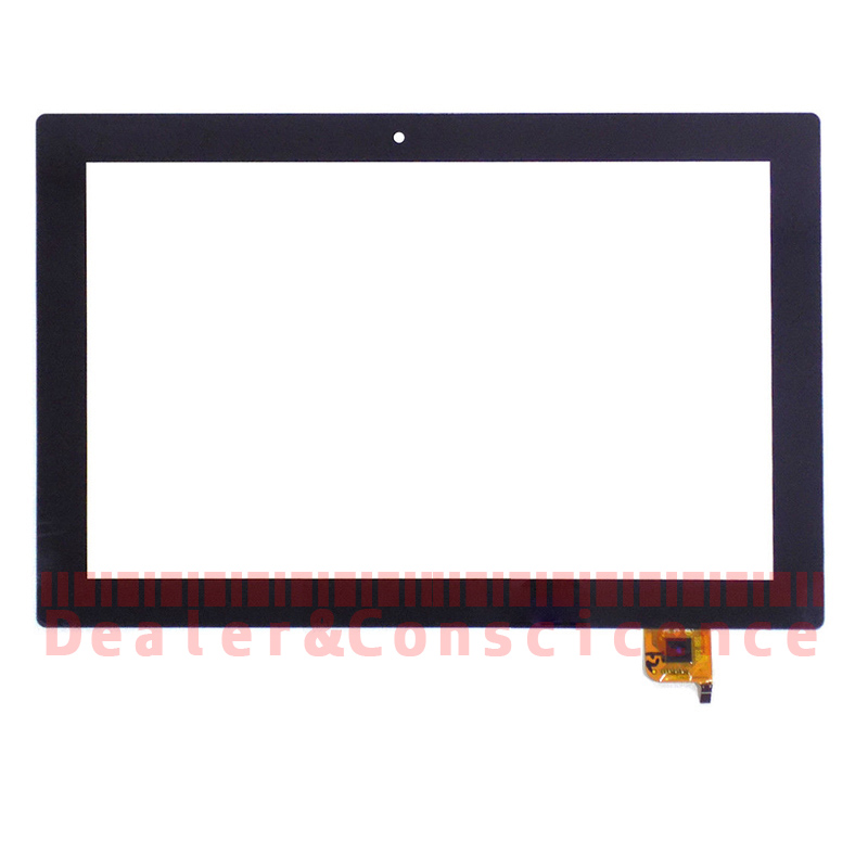 LOVAIN 10Pcs Original For Lenovo ideapad Miix 310 Miix310-10ICR 10.1 Touch Screen Digitizer LCD Outer Front Glass Sensor 10 1 inch touch screen digitizer glass panel replacement parts with frame for lenovo miix 310 10icr miix310 miix 310