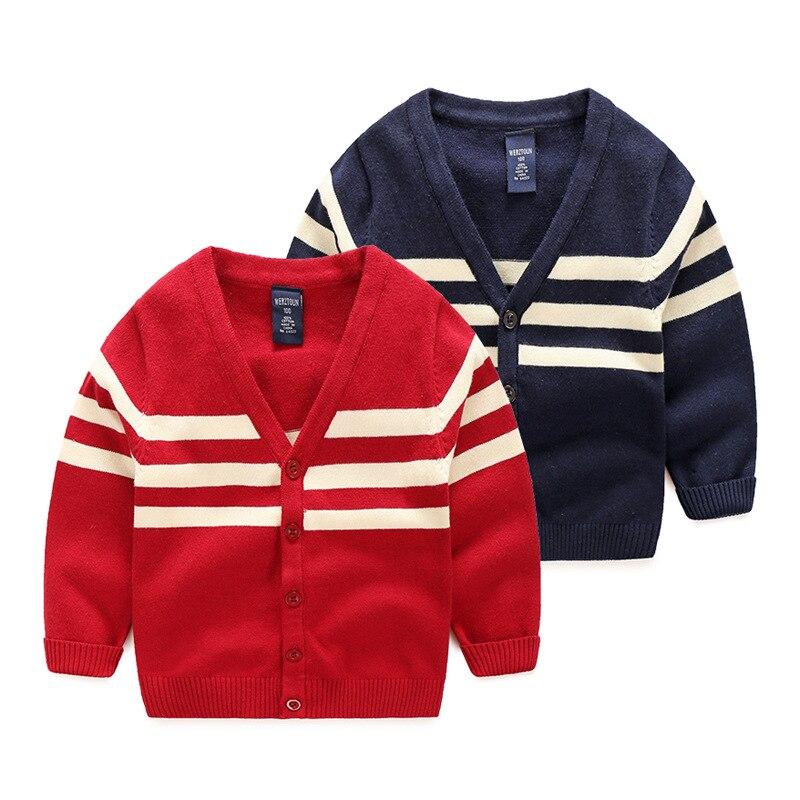 0b6dd8b6750e 2017 Kids Autumn Sweater England Stylish Long Sleeve Patchwork Pull ...