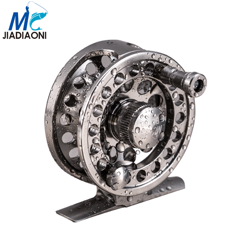 Jiadiaoni stainless steel high quality fly fishing reel 2 for Reel steel fishing