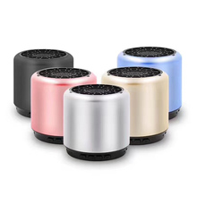 German Wireless Bluetooth Speaker mini Subwoofer Small Steel Gun mobile computer HIFI wireless speaker