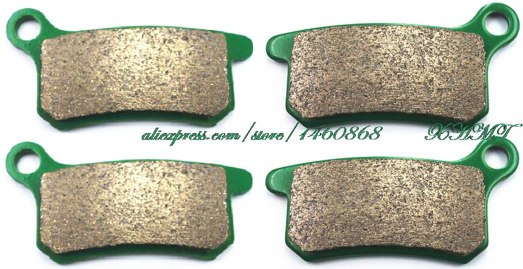 Brake Pads Set for KTM SX65 SX 65 2010 2011 2012 2013 2014 2015 / SX85 SX 85 2003 2004 2005 2006 2007 2008 2009 2010 aluminum alloy radiator for ktm 250 sxf sx f 2007 2012 2008 2009 2010 2011