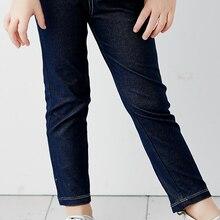 Balabala/Детские теплые хлопковые леггинсы для девочек; детские штаны; Детские обтягивающие спортивные штаны с эластичной резинкой на талии