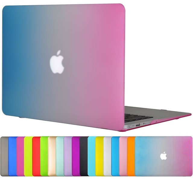 best website 61472 5068f US $20.88  Hard Plastic Protective Skin Case for Apple Macbook 11 12 13 15  Air Pro Retina Matte Shell Case Cover for Mac book Laptop-in Laptop Bags &  ...