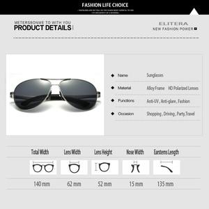 Image 5 - ELITERA Men Polarized Sunglasses 2020 Classic Design Male Aluminum Magnesium Sun Glasses Driving Eyewear For Men/Women