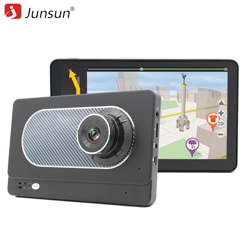 """Prix pour Junsun 7 """"Voiture DVR Caméra Android GPS Navigation dash caméra dans la voiture vidéo caméra full hd 1080 p Enregistreur Registrator"""