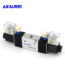 цена на 3V320 series G3 / 8 solenoid valve single and double coil DC AC double three-way pneumatic valve 12V 24V 36V 110V 220V 380V