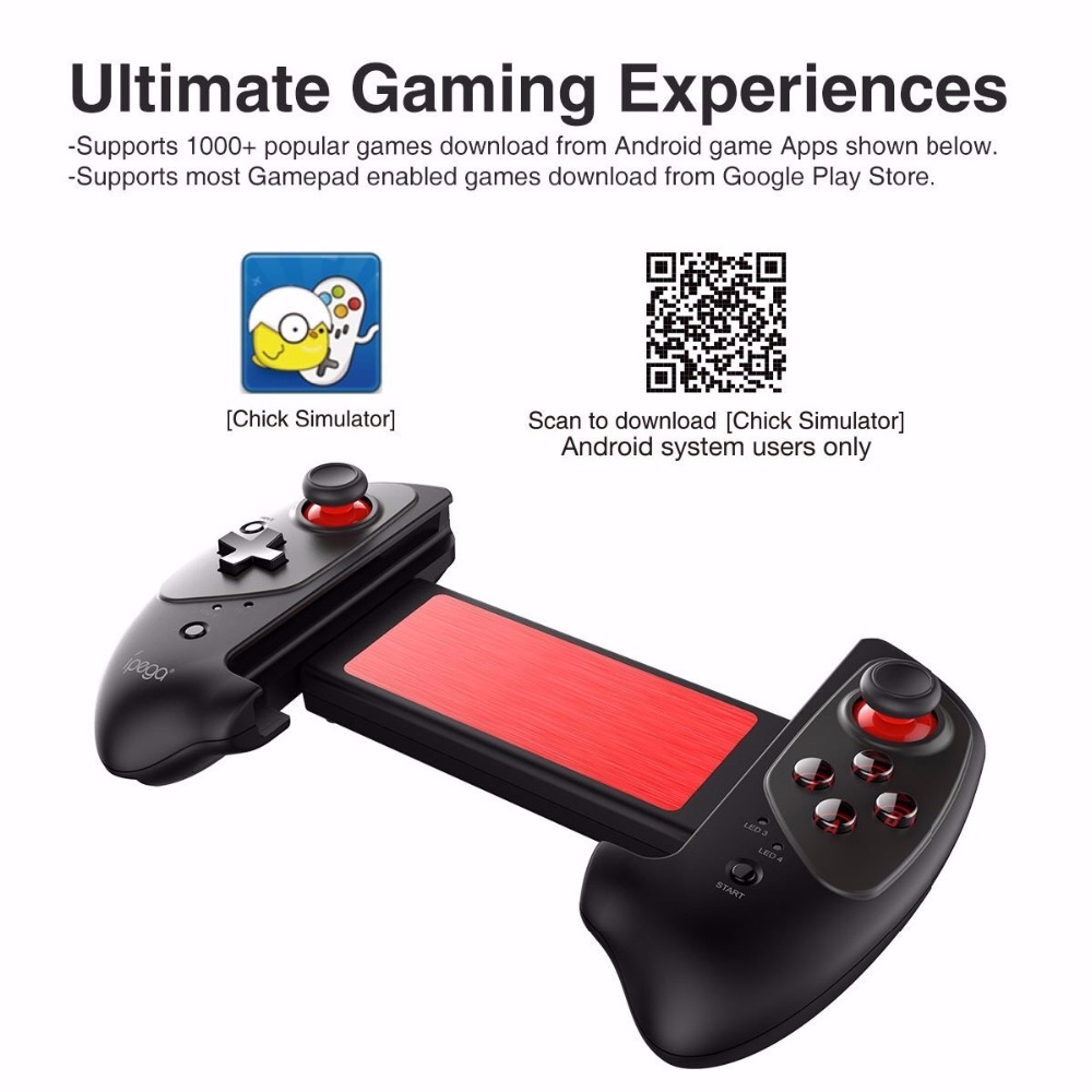 IPEGA PG-9083 PG 9083 Bluetooth Gamepad Wireless Telescopic Game Controller Practical Stretch Joystick Pad for Android/ iOS/ PC
