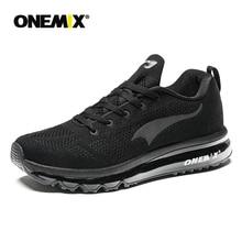 ONEMIX 2018 hommes chaussures de course respirant coureur athlétique baskets coussin d'air chaussures de course en plein Air chaussures de marche livraison gratuite