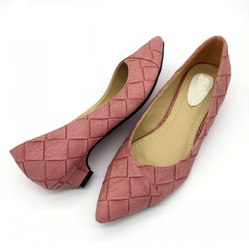 Vintage-Style-Women-s-Pointed-Toe-Pumps-Spring-Autumn-PU-Shallow-Slip-On-Women-Low-Heel (1)