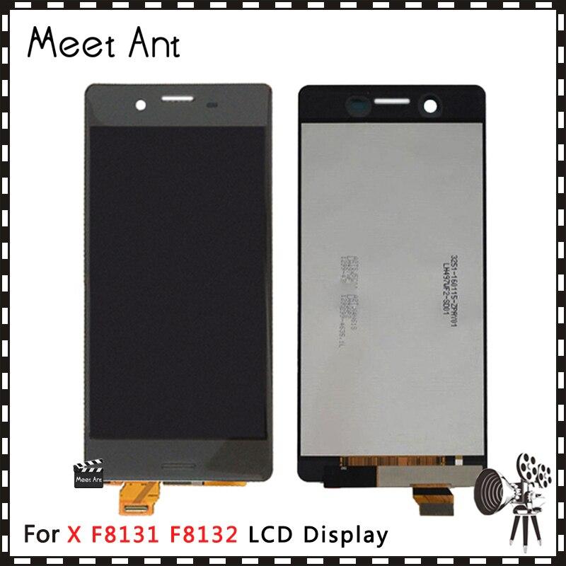 DHL 10 pièces haute qualité 5.0 ''pour Sony Xperia X Performance F8131 F8132 écran d'affichage à cristaux liquides avec assemblage de numériseur d'écran tactile