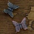 Decorativo Borboleta da Ferragem Do Armário Armário Maçanetas de Gaveta, Bronze antigo Mobiliário Crianças Puxadores E Alças Dresser Puxa