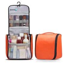 Make-up Bag Large Capacity Cosmetic Bag for Women Travel Fashion Men's Toiletry Bag for Shampoo Hanging Hook Organizer Bag
