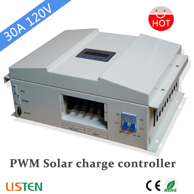 120V 30A PWM  Solar charge Controller With LCD disply120V 30A PWM  Solar charge Controller With LCD disply