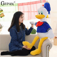 70CM Giant Size Donald Daisy Duck Goofy Dog Plush Stuffed Cartoon Dolls Pillow Toys Children Birthday Gift Home Decor