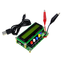 Free Shipping LC100 A Digital LCD High Precision Inductance Capacitance L C Meter Capacitor Test Instruments