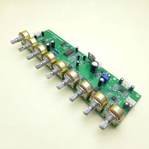 Image 5 - GHXAMP T62M0001A Audio Mixer Board Stereo Kara OK Reverberation board Preamp Tone AMP With Treble and Bass Adjustment DC12V 1pc
