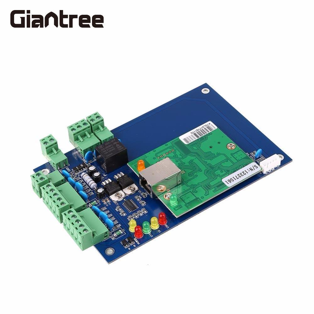 цены Giantree Access Control Panel LO1 Single Door Network Bothway Access Board Controller Panel Circuit Entry Exit TCP/IP