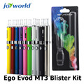 Электронная сигарета оптом эго к 510 адаптер эго Evod MT3 Блистер Комплект evod батареи сухие травы распылитель дистрибьютор 5 шт. (ММ)