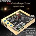 Кабель для зарядки мобильного телефона тестер Apple кабель передачи данных для аndroid зарядное устройство по току тест кабель передачи данных, ...