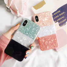 Gradient color Glitter phone Case for iphone XS Max X XR Glossy soft silicone For 6 6s 7 8plus Back Soft Cases Coque