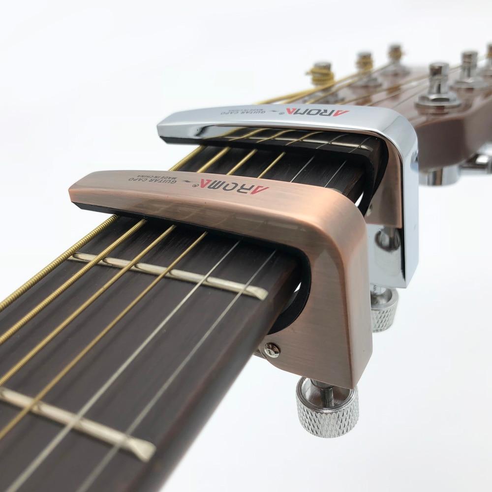 Mandolina Banjo Ukelele COOME Cejilla Capo R/ápida para Guitarra Electr/ónica Cl/ásica Ac/ústica