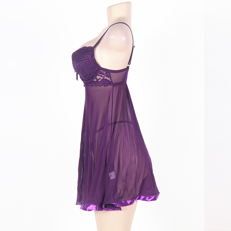 7363ab09a2a Color as shown. Weight 0.15 Kg Material 95% Polyester + 5% Spandex  Including Dress + G string
