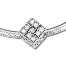 Fits Pandora Bracelet Original 925 Sterling Silver Bead Timeless Elegance Charm Beads for Jewelry Making Women Gift Kralen цена