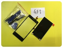 Wyieno GF3 LCD Sensor For Zte Blade GF3 LCD + Touch Screen Panel Replacement Parts With Tools ; With Tracking Number