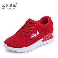 Women Running Shoes Autumn Ladies Platform Sneakers Filas Breathable Gym Sports Shoes Triple-S Walking Athletic Female Footwear(China)