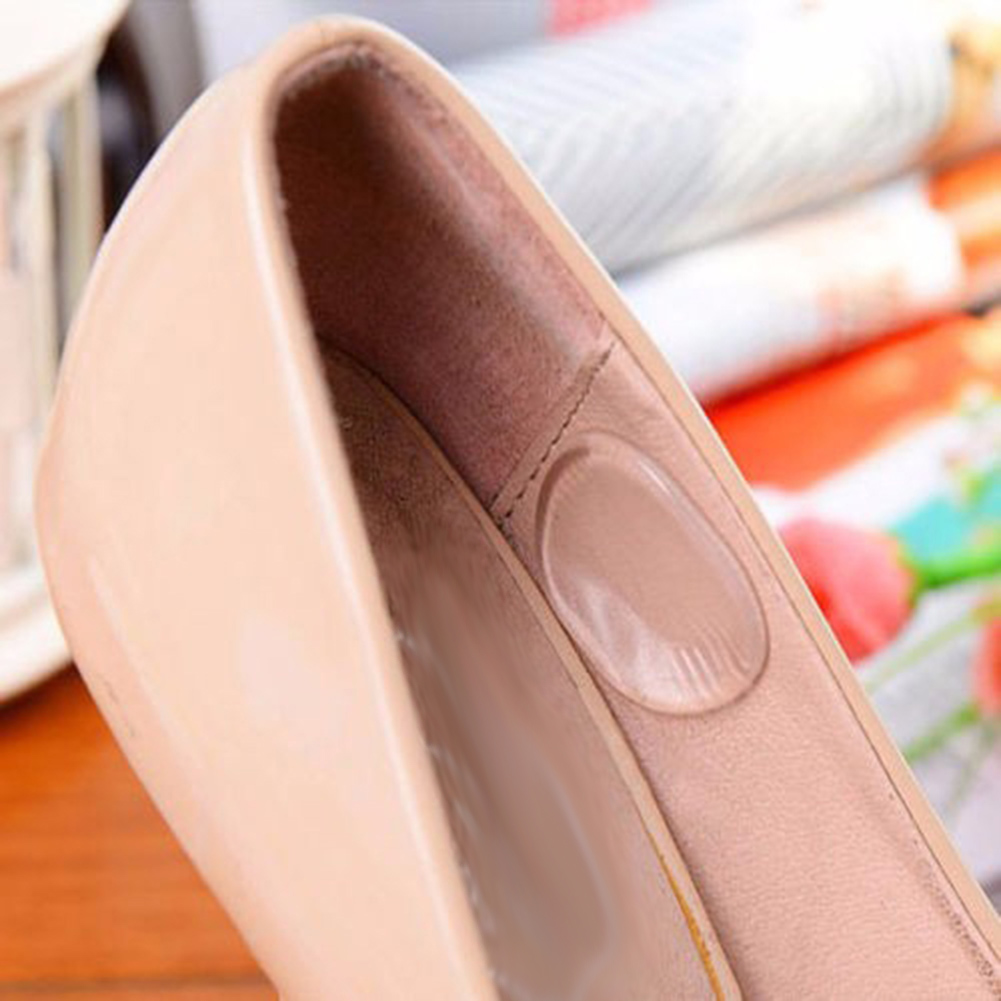 Details about  /Silicone Small Round Heel Stickers Anti-skid Prevent Grinding Foot Pain Stickers