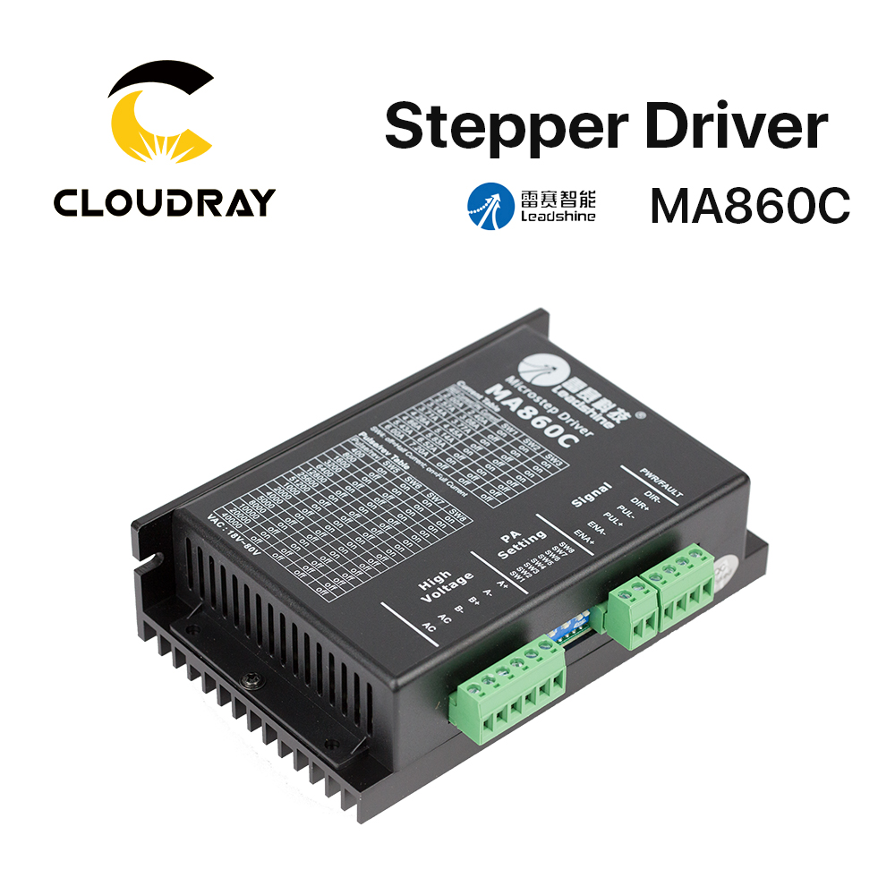 Cloudray Leadshine 2 Phase Stepper Driver MA860C 36-80VAC 1.8-7.2A