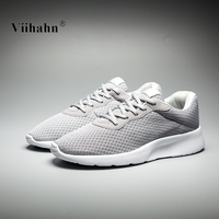 Viihahn Running Shoes For Men 2017 Spring And Summer Breathable Mesh Lace Up Sneakers Outdoor Athletic