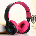 KIDA AB005 wireless stereo Bluetooth headset with a microphone TF card FM FM rhythm LED headphones give children the best gift