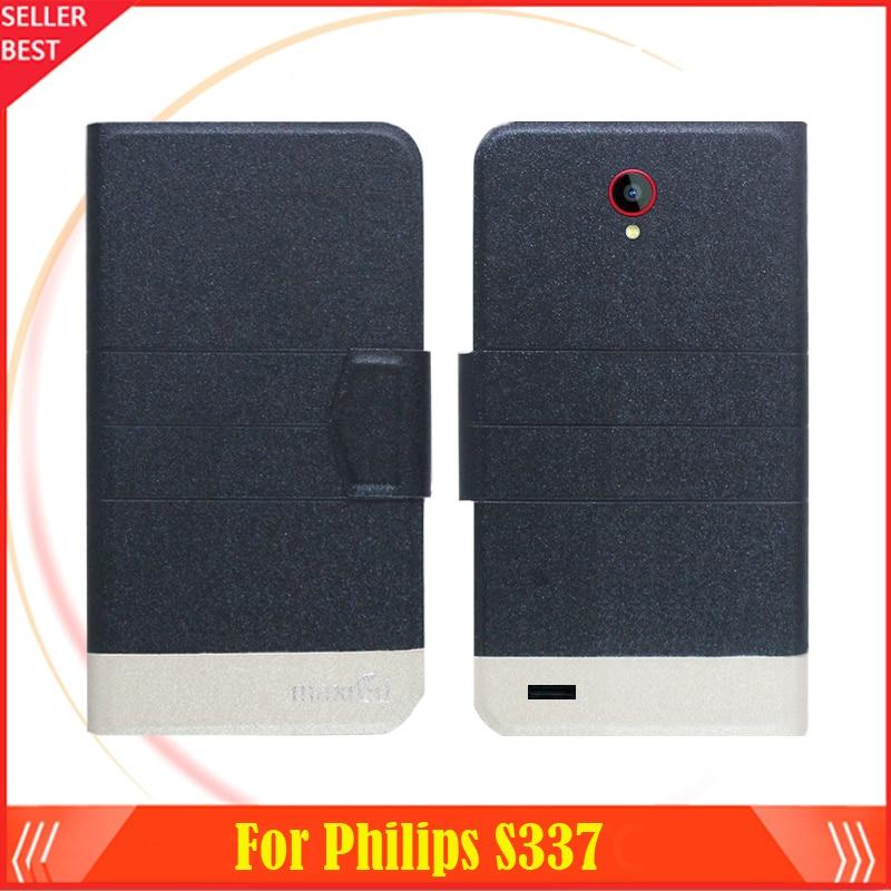 5 գույ Super! Philips S337 հեռախոսի Case կաշվե - Բջջային հեռախոսի պարագաներ և պահեստամասեր - Լուսանկար 2