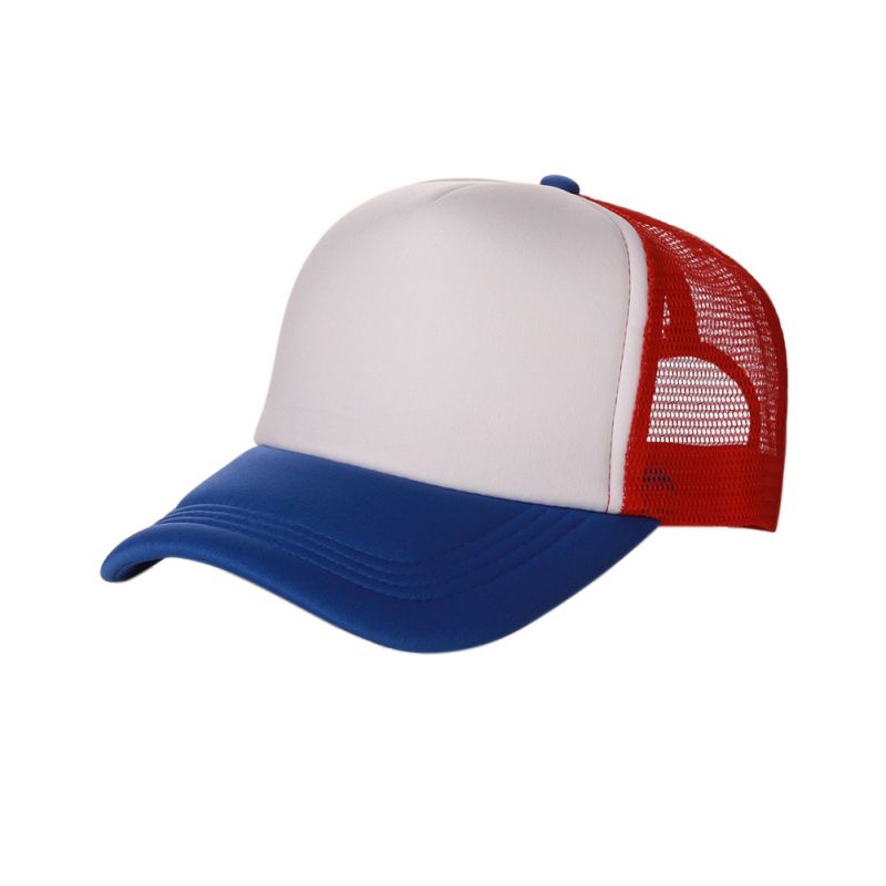 Good-looking Plain   Baseball     Cap   Solid Trucker Mesh Blank Curved Adjustable   Baseball   Hat