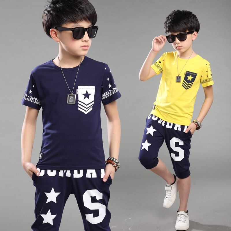 Hot summer baby boy clothes boys casual t shirt pants for What time does old navy open today