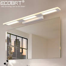 ECOBRT Modern 12W 18W Bathroom LED Wall Lights Fixtures for home Indoor White Wall Sconces 110-240V AC