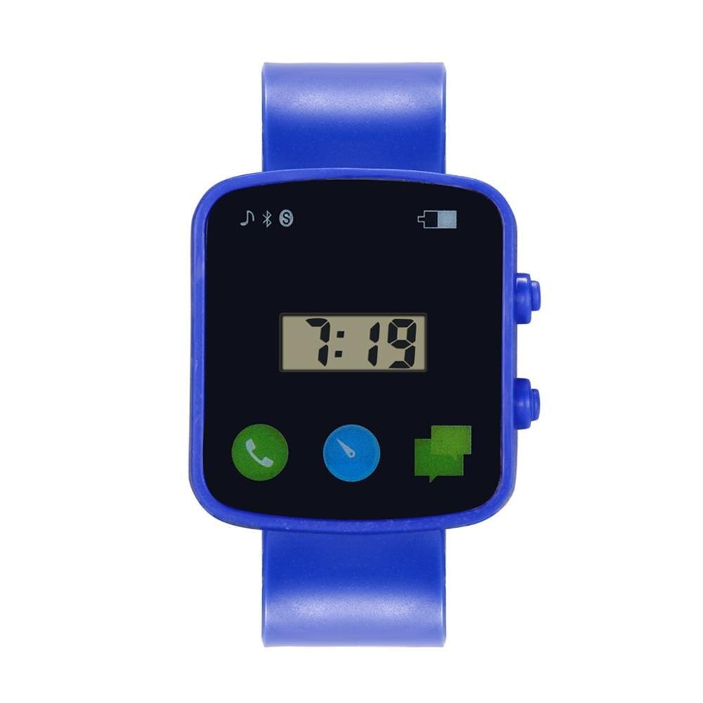 Fashion Style Unisex Children Square Digital Led Quartz Sports Wrist Watch New Product Creative Clock Strap Relogio Menino#F