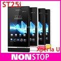 Original ST25 Sony Xperia U ST25i Teléfono Celular Androide 5MP WIFI GPS 4 GB Interno Abrió El Teléfono Móvil