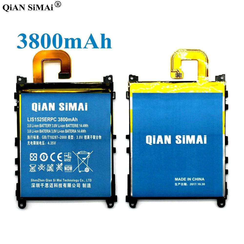 QiAN SiMAi Haute Qualité LIS1525ERPC 3800 mAh Batterie Pour Sony Xperia Z1 L39h C6902 C6903 C6906 L39T L39U + de Suivi Code