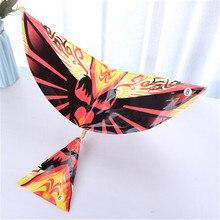 DIY ручной работы Резиновая лента мощность бионический Воздушный самолет Ornithopter модели птиц наука воздушный змей игрушки для детей взрослых сборки подарок