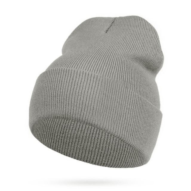 Women Men Skullies Beanies Hat Winter Hat Men Warm Wool Knitted Fashion  Solid Color Hip-hop Unisex Cap Bonnet Homme Femme Gorro 23fda4a5f05
