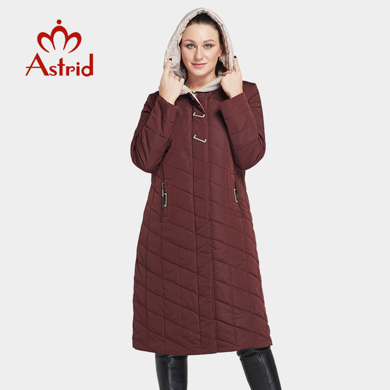 New winter women jacket coat cotton Large size coat Slim solid color warm hooded zipper winter