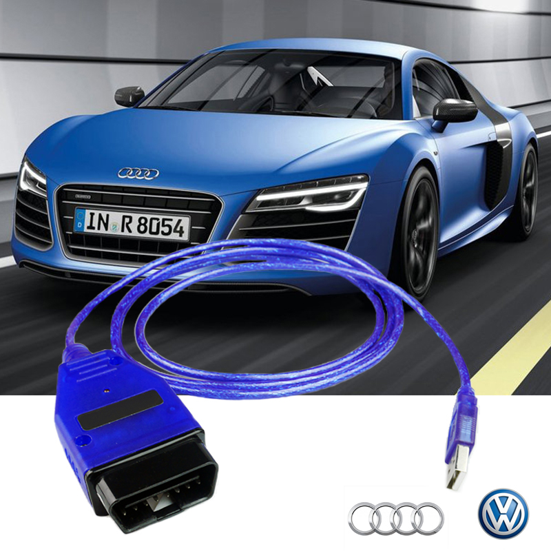 Prix pour HOT! nouvelle Arrivée ELM327 OBD2 USB Câble De Diagnostic Outil D'analyse Interface Pour Audi VW SEAT SKODA De Voiture outil d'analyse