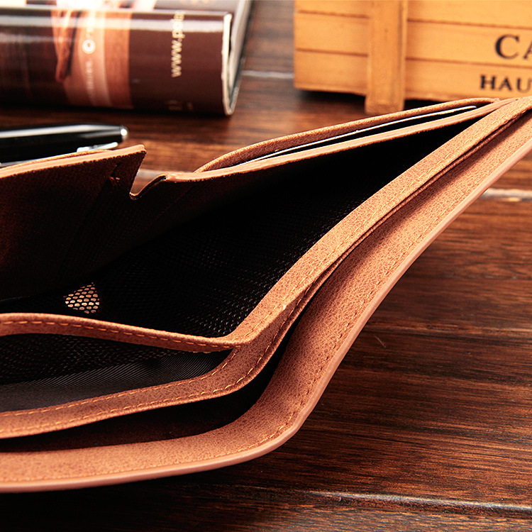 Baellerry 17 men wallets mens wallet small money purses Wallets New Design Dollar Price Male Wallet Purse with zipper Coin Bag 14