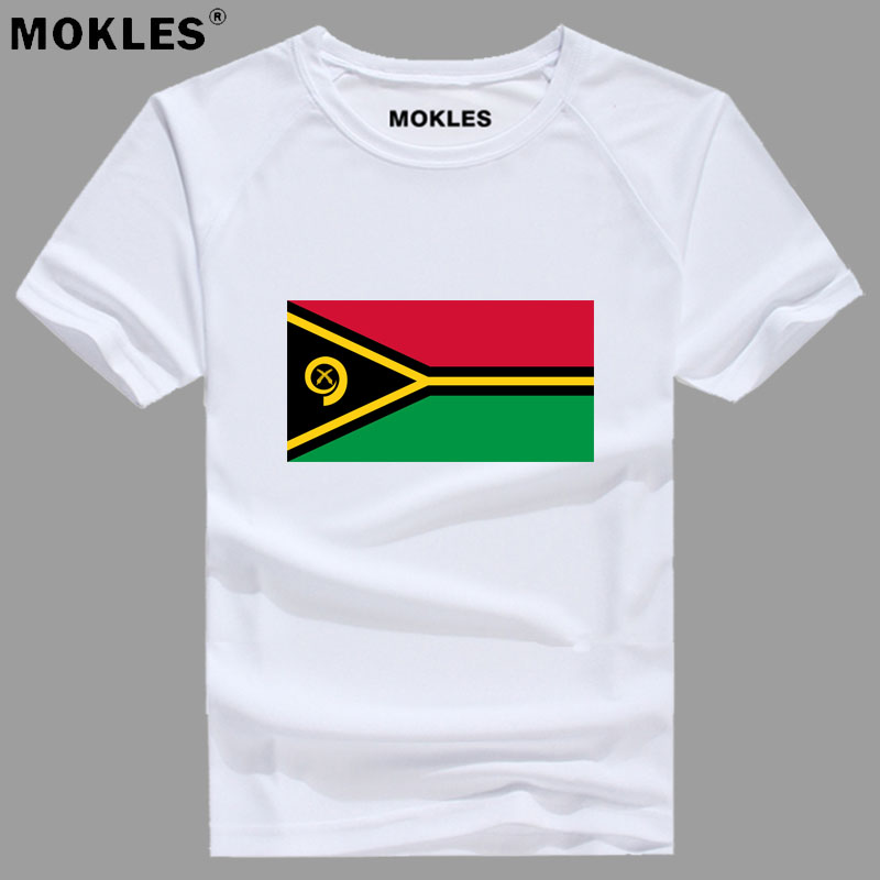 VANUATU t shirt diy free custom made name number vut t-shirt nation flag vu republic country college photo text print 0 clothing