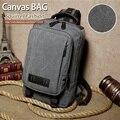Esquilo moda casual canvas crossbody homens messenger bag estilo Coreano vogue hipster pequeno mochilas de viagem mochila do vintage